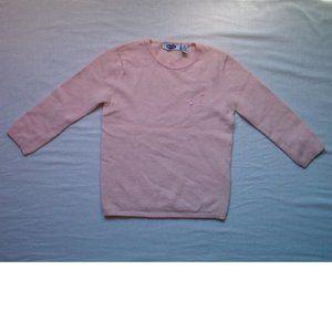 Old Navy Girls Wool Blend Sweater, Pink, Medium